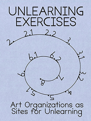 Image description: the book cover featuring its title and a whirl-drawing with chapter numbers placed along its trajectory.